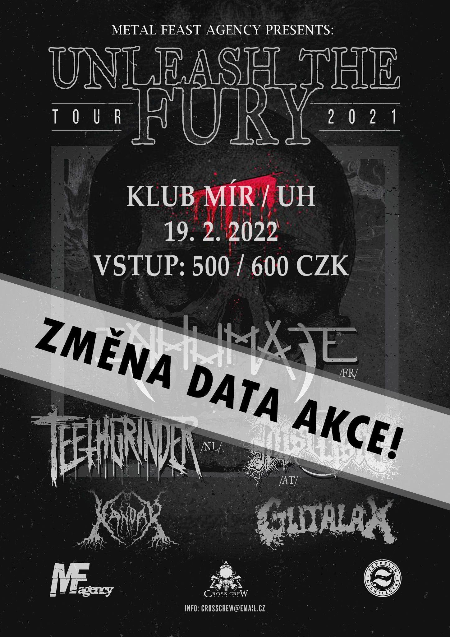 Unleash The Fury EU tour 2021